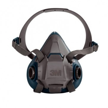 3M 6502/49489 RUGGED COMFORT HALF FACEPIECE REUSABLE RESPIRATOR MEDIUM