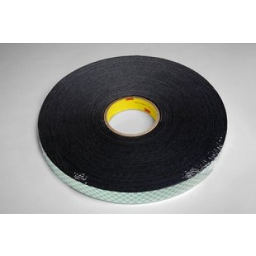 3M Double Coated Urethane Foam Tape 4052 Black