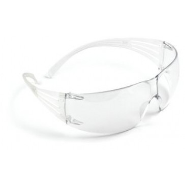 3M Secure Fit Clear Anti-Fog Safety Glasses SF201AF