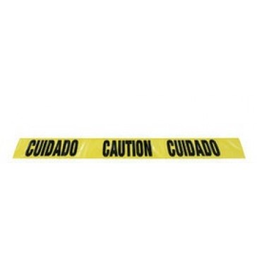 "AIR GAS SAFETY BI-LINGUAL CAUTION TAPE 3"" X 1000'"