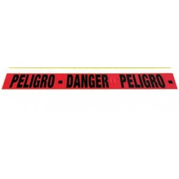 "AIR GAS SAFETY BI-LINGUAL DANGER TAPE 3"" X 1000'"