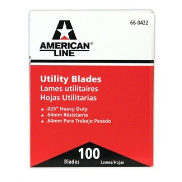 American Safety Razor 2 Notch Utility Blade