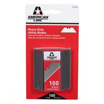 American Safety Razor 2 Noth Utility Blade 100 Pack Dispenser