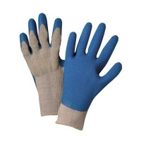 CCP INDUSTRIES COTTON POLY COATING LATEX GLOVES