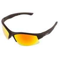 ERB Breakout Black Red Mirror Safety Glasses
