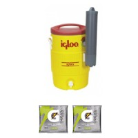 Igloo Industrial Water Cooler with Cup Dispenser 11863 with Two Free Gatorade Pouches