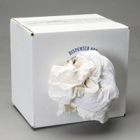 LANCASTER WHITE RECYCLED TSHIRT CLOTH RAGS