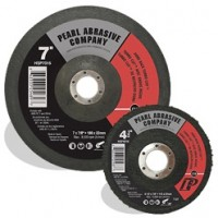 Pearl Abrasives 4.5in x 7/8in SC Turbocut Discs for Concrete & Stone, Hard Back HSP4524