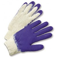 Radnor Mens Rubber Coated Cotton/Poly String Knit Glove