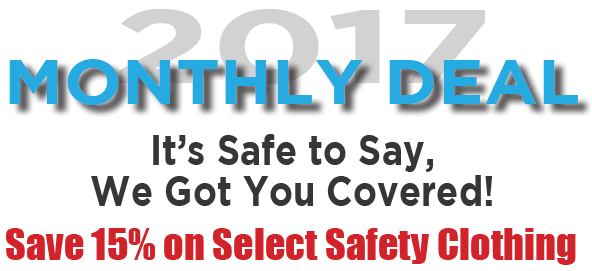 ERB Safety Apparel - November 2017 Monthly Special