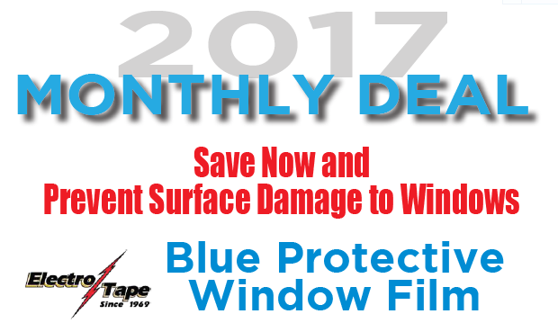 Window Film Sale - July 2017 Monthly Special