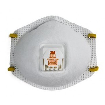 3M Particulate Respirator 8511 N95 (Box of 10)