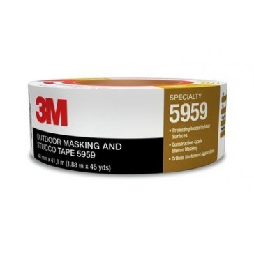 """3M Outdoor Masking and Stucco Tape 5959 1.88"""" x 135'"""