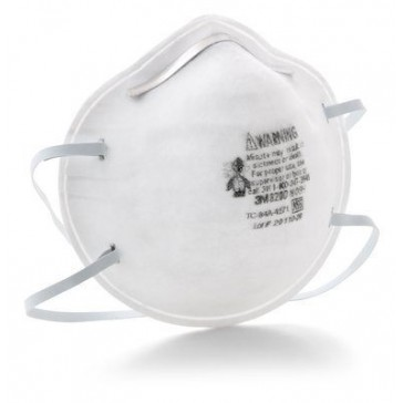 3M Particulate Respirator 8200/07023 N95 (Box of 20)