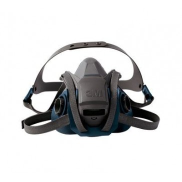3M Rugged Comfort Quick Latch Half Facepiece Reusable Respirator 6502QL/49489 Medium