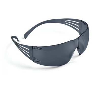 3M Secure Fit Gray Safety Eyewear #SF202AF