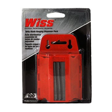 WISS UTILITY BLADE 100 PACK