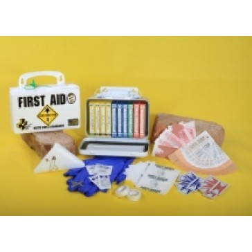 Certified Safety K209-240 First Aid Kit 10 Man