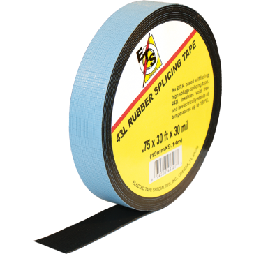 Electro Tape 43L 30 Mil High Voltage Rubber Linered Tape 3_4in x 30ft Roll