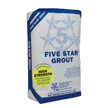 Five Star HTR Grout