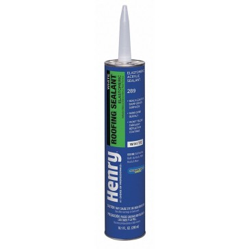 Henry 289 White Roofing Sealant 10oz