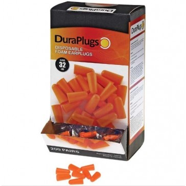Liberty DuraPlug Foam Uncorded Ear Plugs 14310 (Box of 200)