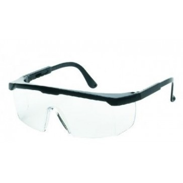 LIBERTY INOX GUARDIAN CLEAR ANTI-FOG LENS WITH BLACK FRAME 1710C
