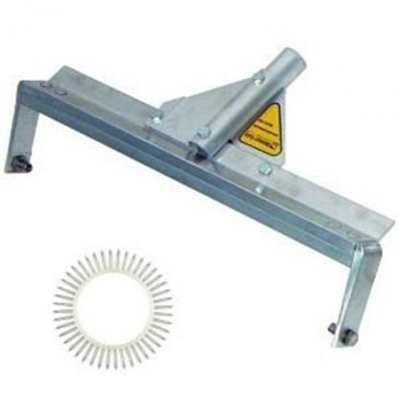 """Midwest Rake 59574 24"""" Spiked Roller with 9/16"""" Spikes 66"""" Handle"""