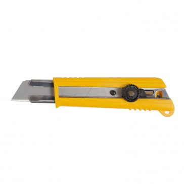 OFLA Rubber Grip Ratchet-Lock Utility Knife