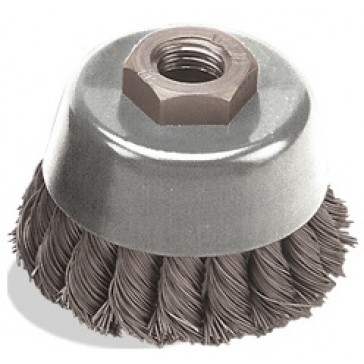 """PEARL ABRASIVE WIRE CUP WHEEL 4"""" X 5/8""""-11 CLWBK458"""