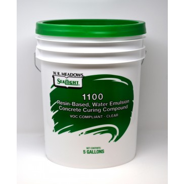 W.R. Meadows 1100 Resin-Based, Water Emulsion Concrete Curing Compound