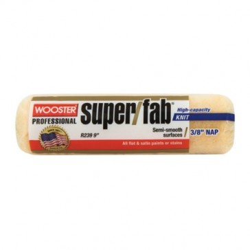 """Wooster Super/Fab Paint Roller Cover 3/4"""" x 9"""" R241"""