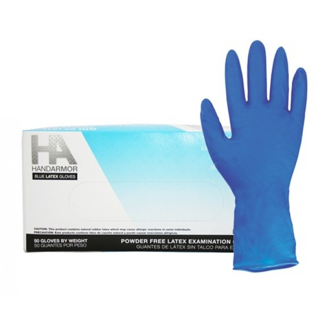 Blue Latex Gloves Fy55 Advancedmassagebysara