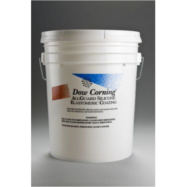 Dow corning allguard silicone elastomeric coating for Silicone paint sealant