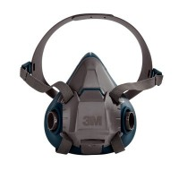 3M 6503/49491 Rugged Comfort Half Facepiece Reusable Respirator Large