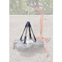 3M DBI-SALA Web Sling Lifting Kit for Roof Top Counterweight Anchor 2104190