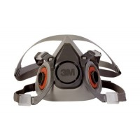 3M HALF FACEPIECE REUSABLE RESPIRATOR 6200/070725, MEDIUM