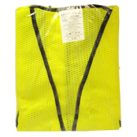 OCCUNOMIX VALUE MESH STANDARD VEST YELLOW