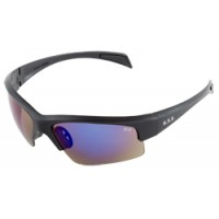 ERB Contra Black Blue Mirror Safety Glasses