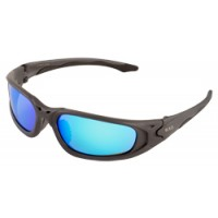 ERB Exile Gray Blue Mirror Safety Glasses Model 18017