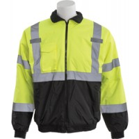 ERB W105 Class 3 Bomber Jacket Lime Black
