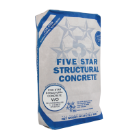 Five Star Structural Concrete V/O 50LB Bag