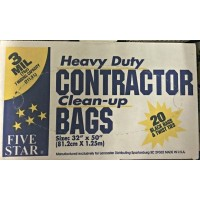 Lancaster 5 Star 3 Mil Contractor Bags