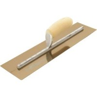 Marshalltown GS Finishing Trowel Curved Wood Handle 20 x 5 MXS205GS