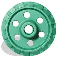 "Pearl Abrasive Crack Chaser 4"" Premium Threaded V904M (Green)"