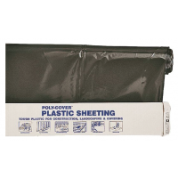Poly-Cover Plastic Sheeting 6 mil Black