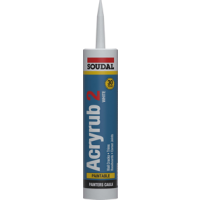 Soudal Acryrub 2 Painters Caulk Sealant