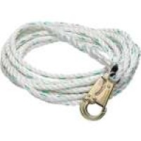 "WERNER VERTICAL LIFELINE, 100FT x 5/8"" POLY-DAC #L201100"